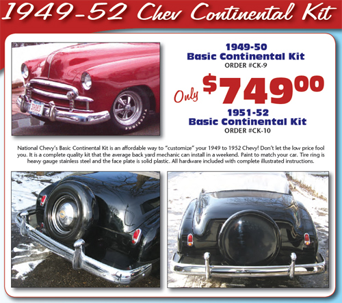 National Chevy Association | 1949 to 1954 Chevy parts
