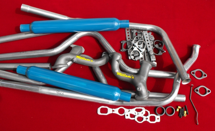 Plete Dual Exhaust System With William's Headers For 194954 Chevy's: Plete Exhaust System At Woreks.co